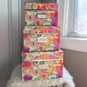 PRICE FIRM || KATE SPADE NESTING BOXES (SET OF 3)